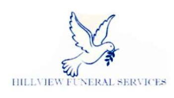 Logo for Hillview Funeral Services